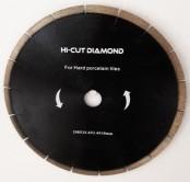 Disc diamantat coroana continua cu fante de racire Hi Cut Diamond